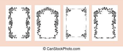 Elegant frames set