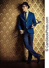 elegant gentleman