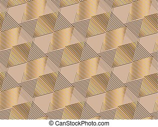 Elegant geometric style seamless pattern vector illustration. Concept geometric tile background for luxury man surface print and web design, background, fabric.