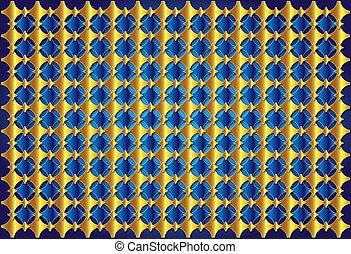 elegant gold blue background