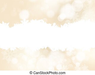 Elegant gold christmas background. EPS 10