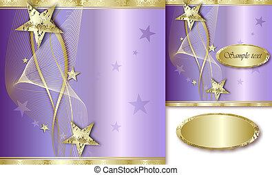 Elegant Golden Background