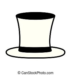 elegant high top hat male