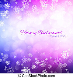 Elegant holiday background with place for text.