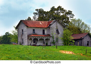 Elegant Home Abandoned to Time