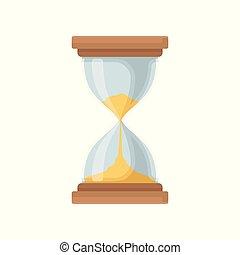 Elegant hourglass, sandglass device for measuring time...