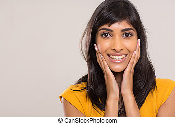 elegant indian woman