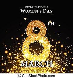 Elegant International Women's Day Background
