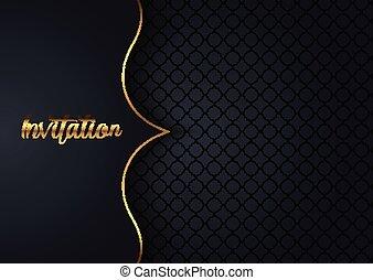 Elegant invitation design background