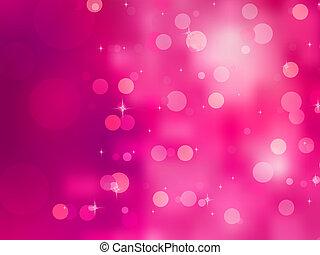 elegant, jul, bakgrund, med, bokehs., eps, 8