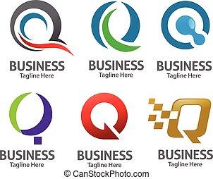 elegant letter Q logo concept - Elegant Letter Q logo ...