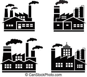 factory logo  vector