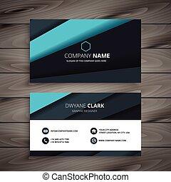 elegant modern business card