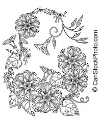 morning glory coloring page - elegant morning glory coloring...
