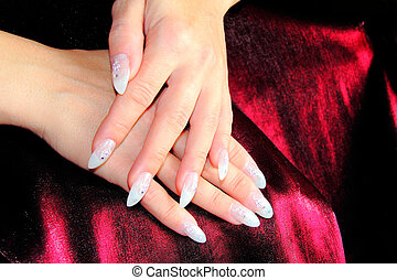 Stock photos of nail design polished nails with a unique design elegant nail design prinsesfo Image collections