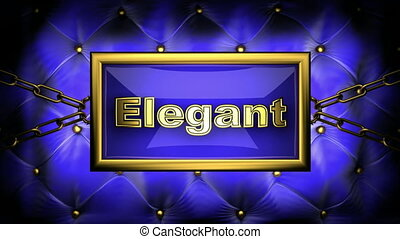 elegant on velvet background