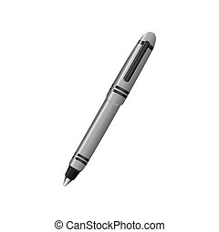 elegant pen icon image