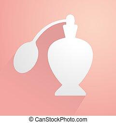 elegant perfume icon