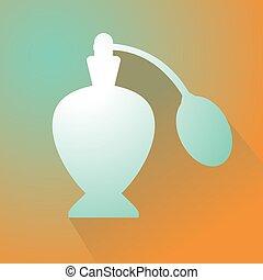 elegant perfume symbol
