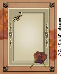 Elegant Photoframe quick page layou