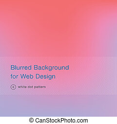 Elegant pink blurred background for web design