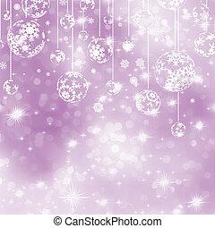 Elegant purple christmas background. EPS 8