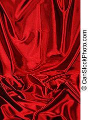Elegant red satin background