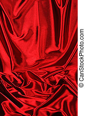 red satin background - Elegant red satin background