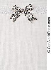 Elegant retro white