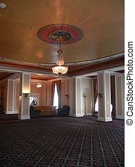 Elegant Room with chandelier - Elegant room with Chandelier