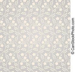 Elegant seamless floral pattern
