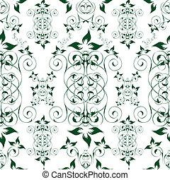 Elegant seamless floral wallpaper