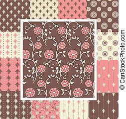 Elegant seamless patterns