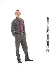 Elegant stylish businessman