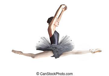 elegant, tänzer