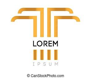 Elegant T Logo Design