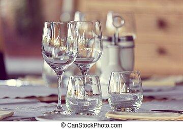 Elegant table set