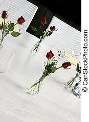 Elegant table setting.