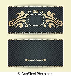 Elegant template for luxury invitation
