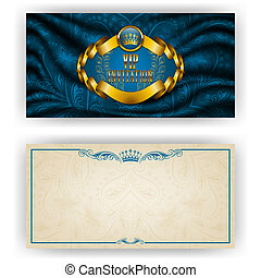 Elegant template for vip luxury invitation - Elegant...