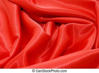 elegant, und, weich, rotes , satin, hintergrund