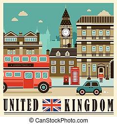United Kingdom street scene