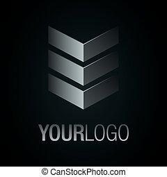 Elegant vector logo.