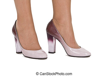 Elegant woman's shoes