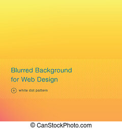 Elegant yellow blurred background for web design