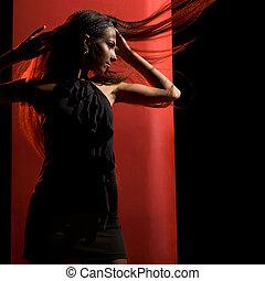 elegante, bailarín