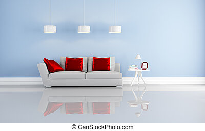 elegante, modernos, interior