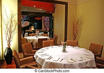 elegante, restaurante
