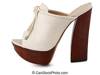 elegante, sapatos, mulheres