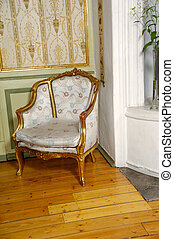 elegante, sillón